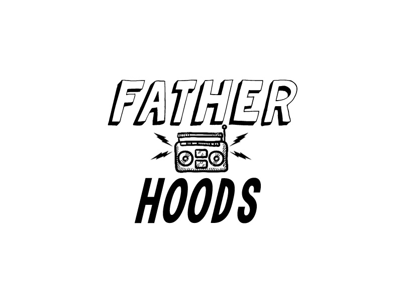 FATHERHOOD RADIO logo for RISK BLK on WHT FINAL